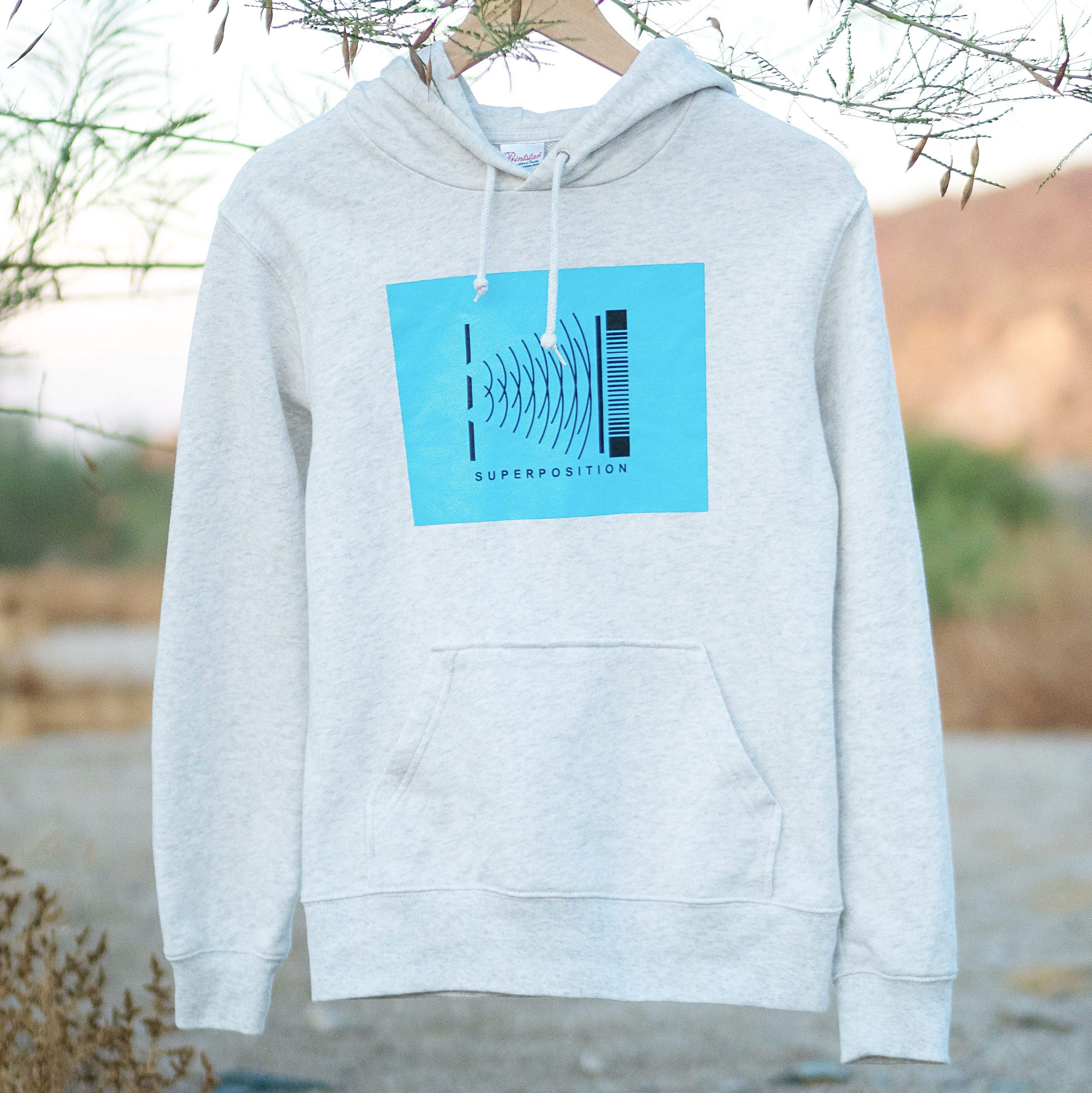 Superposition Hoodie | 重ね合わせ パーカー